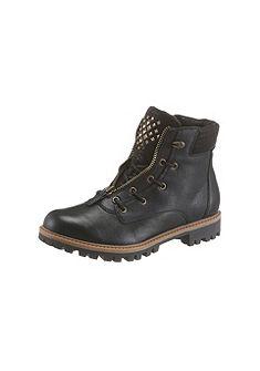 Tamaris Šnurovacie topánky vysoké