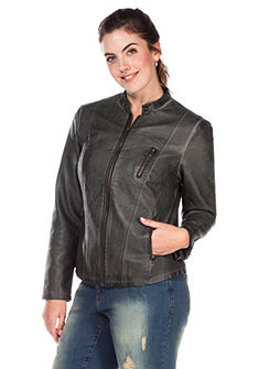 sheego Trend Műbőr dzseki