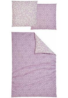 Oboustranné ložní prádlo, Home affaire Collection, »Meggi« s květovaným designem