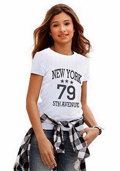 Arizona Tričko s prednou potlačou, pre dievčatá