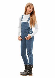 Arizona Kalhoty s náprsenkou a nastavitelnými ramínky, pro dívky