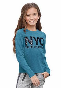 kidsworld Tričko s dlhým rukávom a filtrami, pre dievčatá