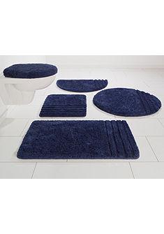Fürdőszobaszőnyeg, szett fali WC-hez, Möve, »Loft«, vastagság 30 mm