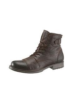 Jack & Jones Šnurovacie topánky vysoké »Siti«