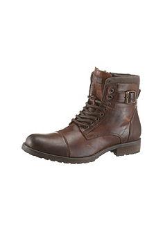 Jack & Jones Šnurovacie topánky vysoké »Albany«