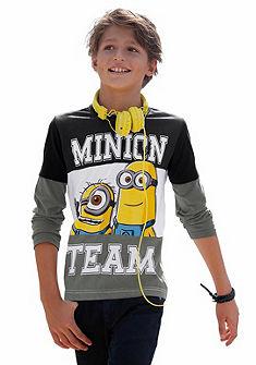 Minions Tričko s dlhým rukávom MINIONS TEAM, pre chlapcov