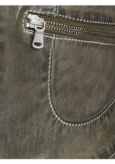 Kožená bunda, nappa koža