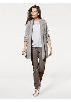 Pletený dlhý sveter
