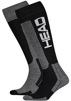Head Lyžiarske ponožky (2 páry) z vlny a polstrované chodidlo