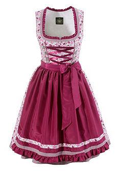Krojové šaty v midi délce s květovaným potiskem, Hammerschmid