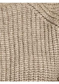 Nagyszemű mintás pulóver
