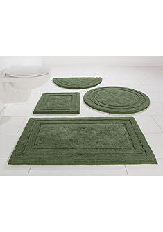 Fürdőszobaszőnyeg, félkör, Otto Kern, »Gamal«, vastagság  17 mm, csúszásgátló hátoldallal
