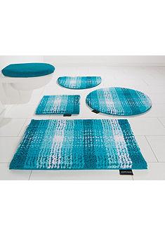 Fürdőszobaszőnyeg, szett fali WC-hez, Bruno Banani, »Kyros«, mikroszálas, vastagság 25 mm, csúszásgátló hátoldallal