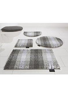 Koupelnová předložka, před závěsné WC, Bruno Banani »Kyros«, mikrovlákno, výška 25 mm, protiskluzová úprava