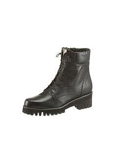 Donna Carolina fűzős magasszárú cipő