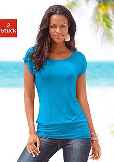Dlouhé tričko, LASCANA (2 ks)