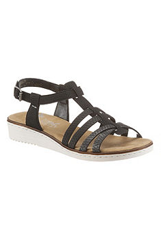 Rieker sandále s remienkami