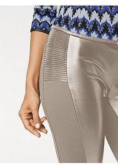 ASHLEY BROOKE by Heine Formující koženkové kalhoty s elastickou vsadkou