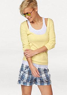 Tričko s dlhým rukávom+top
