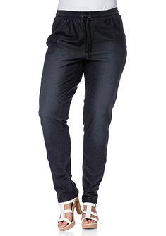 sheego Trend Bavlněné kalhoty