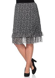 sheego Style Šifónová sukně