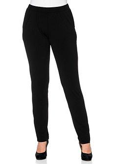 sheego Style Žerzejové kalhoty »úzké«
