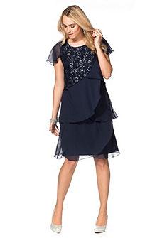Sheego Style Čipkované šaty