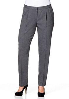 sheego Class Schmale Elastické kalhoty s pruhy