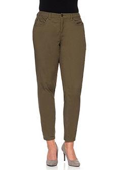 sheego Casual Strečové kalhoty »úzké«