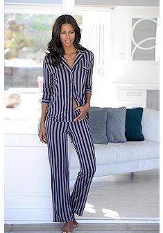 JETTE Klasická pyžama v rovnom strihu