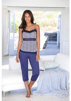 JETTE Capri pyžamo s krajkou