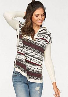 AJC norvég mintás pulóver