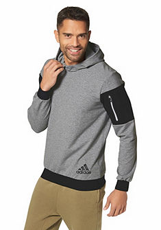 adidas Performance S3 OVER THE HEAD HOODIE funkcionális kapucnis hosszú ujjú felső