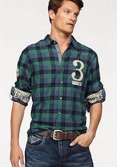 Camp David Kockovaná košeľa