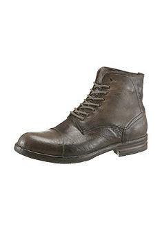 NOCLAIM Šnurovacie vysoké topánky