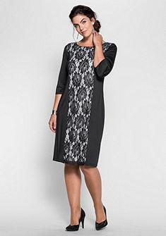 sheego Style Šaty s čipkou
