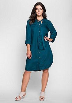 sheego Style Šaty s golierom