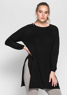 sheego Casual hosszú pulóver