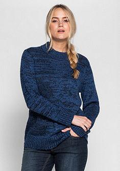 sheego Casual pulóver bordás kötött minőségben
