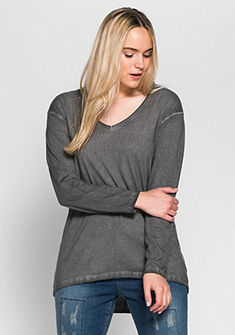 sheego Trend Tričko s dlouhým rukávem
