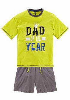 Alan Brown rövidnadrágos pizsama »Dad of the year«