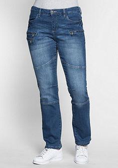 sheego Denim Strečové džíny »rovné«