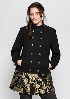 sheego Style Krátka bunda vo vzhľade 2-v-1
