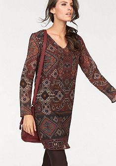 Tamaris nyomott mintás ruha