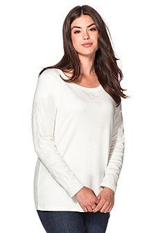 sheego Style Tričko s dlouhým rukávem