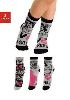 Violetta Dětské ponožky (3 páry)