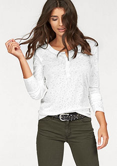 Cross Jeans® tričko s dlhými rukávmi