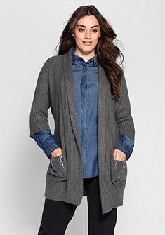 sheego Style Dlouhý svetřík