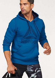 Reebok mikina s kapucí »Workout Ready Big Logo Cotton poly Hood«