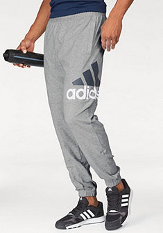 adidas Performance Tepláky »ESSENTIALS PERFORMANCE LOGO TAPERED SINGLE JERSEY PANT«